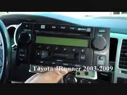 toyota 4runner radio toyota 4runner stereo removal 2003 2009