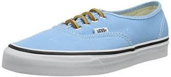 light blue vans mens amazon com vans men s brushed twill authentic bachelor us men s