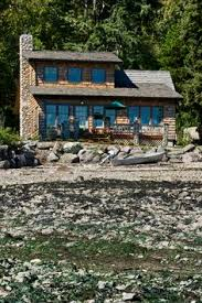 Small Cabin Blueprints Think Small This Cottage On The Puget Sound In Washington Is A