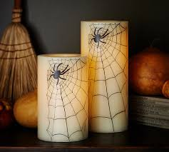 halloween spider candles pottery barn knock off creative ramblings