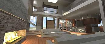 contemporary prairie style house plans plan w44106td modern living e architectural design
