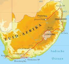 Lesotho Map Rondreis Zuid Afrika Lesotho U0026 Swaziland 21 Dagen Djoser