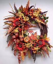 autumn wreath fall wreath ebay