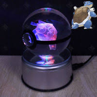 Light Table Desk Pokemon Go Bulbasaur Big Crystal Ball 3d Led Night Light Table