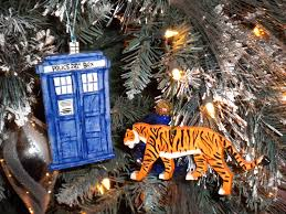 tiger and tardis ornaments by twilit guardian on deviantart