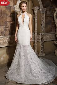 a line lace wedding dresses lace bridal gowns backless