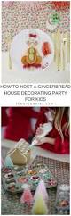 how to host a children u0027s gingerbread house decorating party