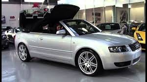 audi a4 convertible s line for sale audi a4 b6 cabriolet silver 2005 sn1009482
