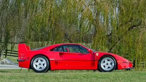 f40 auction iacocca s f40 up for auction autoblog
