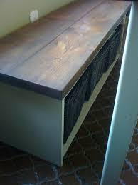 kitchen table with bench storage unique ana white