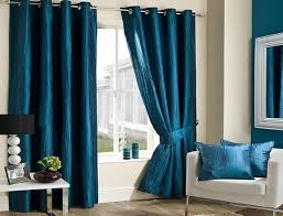 Blue Silk Curtains Attractive Cool Blue Combinations Curtains Curtains Design