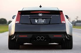 cadillac cts v coup 2013 hennessey vr1200 cadillac cts v coupe rear view egmcartech