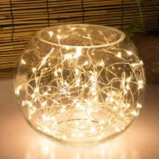 kohree 60leds string lights with remote aa battery