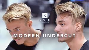 different undercut hairstyles modern undercut cool and popular hairstyle hair for men youtube