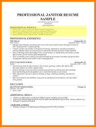 emt resume sample resume templates janitor resume duties janitorial resume 10 example of resume profile emt resume janitor resume