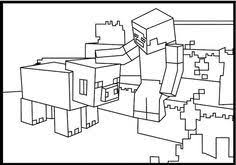 coloring pages minecraft pig minecraft pig coloring pages minecraft coloring pages birthdays