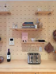 Peg Board Shelves by Baltic Birch Pegboard U2014 Rather Well Design