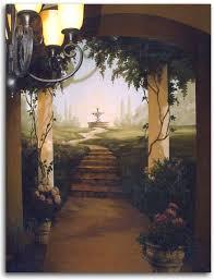 Trompe L Oeil Wallpaper Trompe L U0027oeil Murals Garden Google Search Mural Ideas