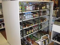 Liquor Store Shelving by Mica Security Case Handy Store Fixtures
