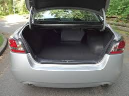 nissan altima boot space 2014 nissan altima 2 5 sv road test review carcostcanada