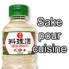saké de cuisine saké pour la cuisine satsuki