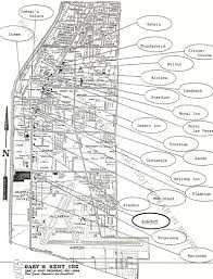 Map Of Las Vegas Strip by Paradise Misplaced Xanadu Las Vegas 1975