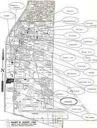 Las Vegas Map Of The Strip by Paradise Misplaced Xanadu Las Vegas 1975