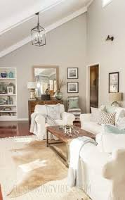 style at home living rooms two tone gray walls slate gray