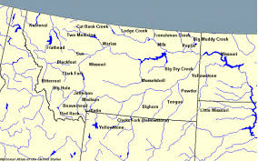 Map Of Billings Montana by List Of Rivers Of Montana Wikipedia