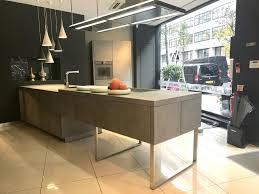 ex display kitchen island buy ex display alno cera kitchen in concreto island with ceramic