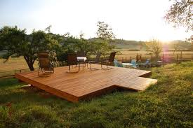 backyard deck plans free outdoor furniture design and ideas