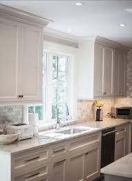 cabinet trim kitchen sink traditional transitional coastal interior design ideas