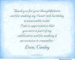 cinderella sweet 16 thank you card blue party magic fairytale