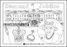queen u0027s diamond jubilee activities colouring sheets