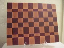 buy a hand made maple purple heart end grain cutting board made custom made maple purple heart end grain cutting board