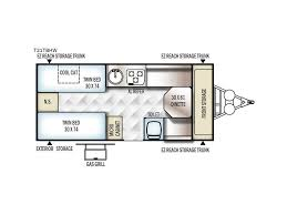 Pop Up Camper Floor Plans by 2018 Forest River Rv Flagstaff Hard Side High Wall Series 21tbhw