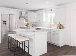 white shaker corner kitchen cabinet aspen white shaker pre assembled kitchen cabinet the rta store