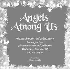 rs christmas party angels among us church pinterest relief