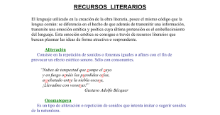 imagenes literarias o contenidos sensoriales recursos literarios doc google docs