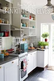 Kitchen Open Shelves Instead Of Cabinets Uotsh - Kitchen shelves and cabinets