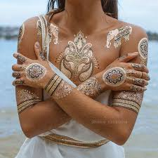 383 best hair and beauty henna gold gold flash tattoos حنا