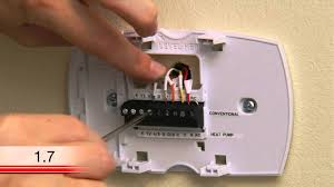honeywell thermostat wiring instructions with diagram for heat