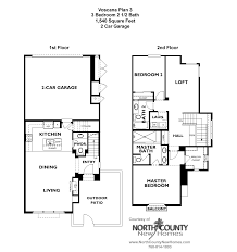 Home Floor Plan by Voscana Floor Plan 3 New Townhomes In Carlsbad Ca By Shea Homes