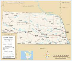 The Great Plains Map Reference Map Of Nebraska Usa Nations Online Project
