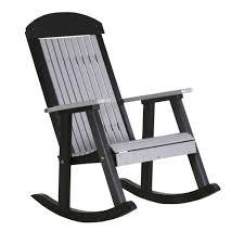 Rocking Folding Chair Luxcraft Crestville Porch Rocker Luxcraft Crestville