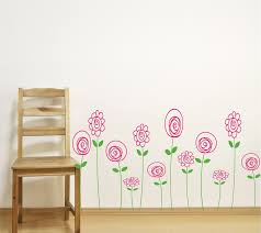 children wall decals doodle wall art baby girl nursery zoom