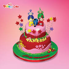 teletubbies cake custom cake kumpulan birthday wedding