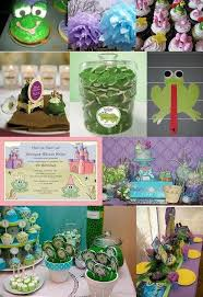 22 princess frog theme party images