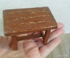 buy furniture for dolls country style table for miniature