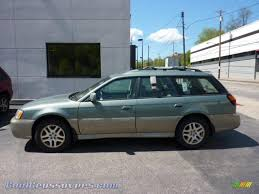 green subaru outback 2003 subaru outback limited wagon in seamist green pearl 610479